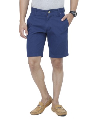 Yuvi Solid Men's Light Blue Chino Shorts