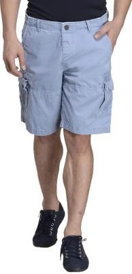 MONTEIL & MUNERO Solid Men's Blue Boxer Shorts
