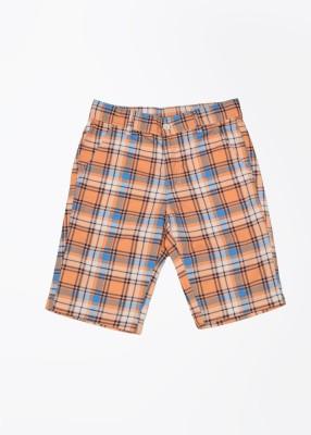 United Colors of Benetton Short For Boys(Orange, 1 - 2 Years)