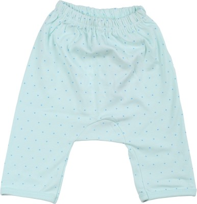 Lula Polka Print Baby Boys Light Green Basic Shorts