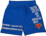 Superman Short For Boys Printed Cotton (...