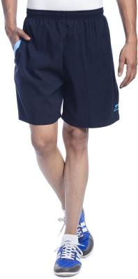 Shiv Naresh Solid Men's Dark Blue Running Shorts