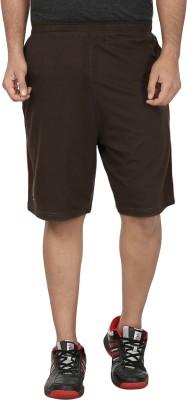 SST Harringbone Men's Green Basic Shorts