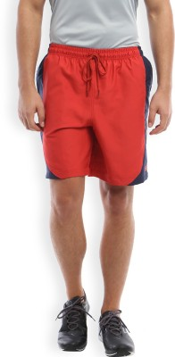 2go Solid Men's Red, Blue Sports Shorts