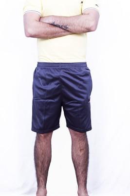 Khaiber Solid Men's Grey Gym Shorts