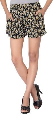 Dream Fashion Printed Women's Multicolor Basic Shorts