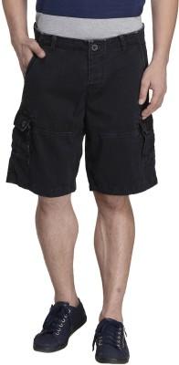 MONTEIL & MUNERO Solid Men's Black Boxer Shorts