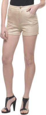 Mayra Solid Women's Brown Hotpants at flipkart