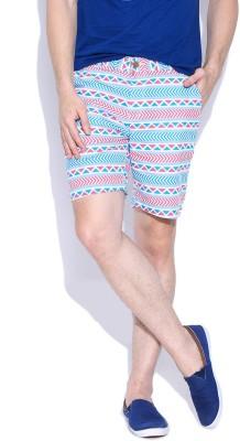 Hubberholme Printed Men's Multicolor Beach Shorts
