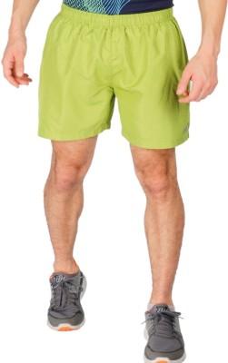 Vector X Solid Men's Light Green Sports Shorts