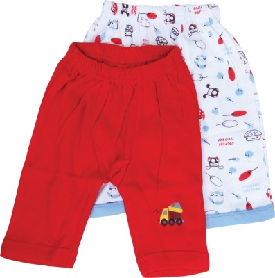 Mee Mee Printed Baby Girl's Red High Waist Shorts