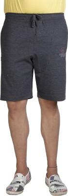 Allocate Solid Men's Black Gym Shorts, Night Shorts, Running Shorts