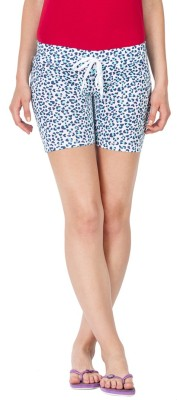 Lovable Printed Women's Multicolor Basic Shorts