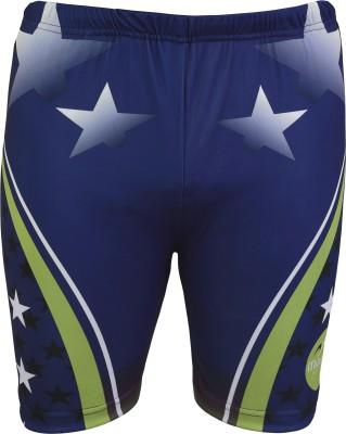 Mitushi Printed Men's Blue Swim Shorts