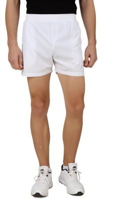 Head Solid Men's White Sports Shorts