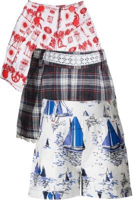 Naughty Ninos Printed Boy's Multicolor Basic Shorts