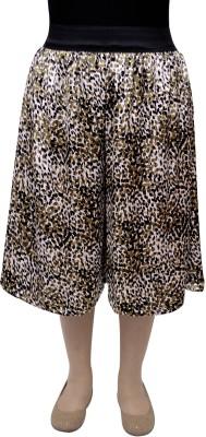 Gracediva Printed Women's Green Culotte Shorts