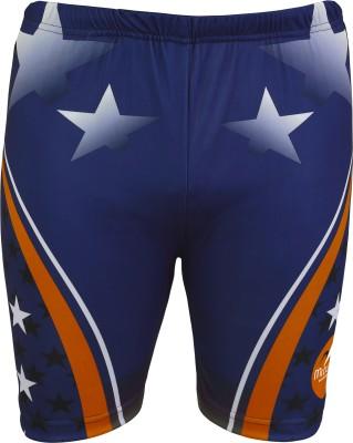 Mitushi Products Printed Men's Blue, Orange Swim Shorts