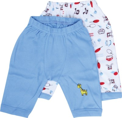 Mee Mee Printed Baby Girl's Light Blue Sports Shorts