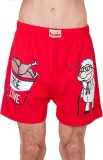 Gabi Graphic Print Men's Red Night Short...