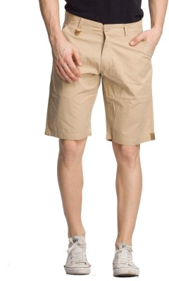 Bodymark Solid Men's Brown Night Shorts
