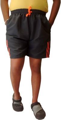 Mode Striped Men's Multicolor Bermuda Shorts