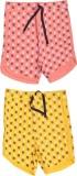 Babeez Short For Girls Cotton Linen Blen...