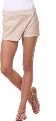 Kotty Solid Women's Multicolor Basic Shorts at flipkart
