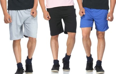 Jack Danieels Solid Men's Multicolor Night Shorts