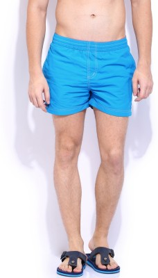Russell Athletic Solid Men's Blue Swim Shorts