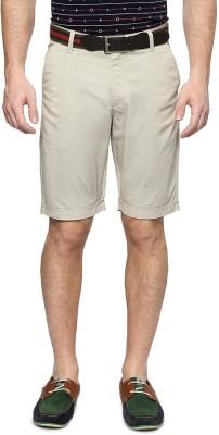Allen Solly Solid Men's Beige Chino Shorts