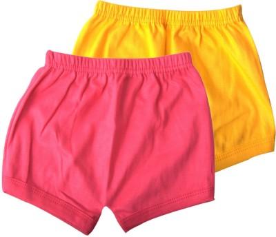 Mahadhi Solid Baby Boys Pink, Yellow Basic Shorts