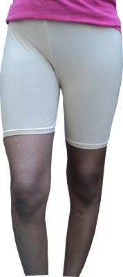 Spongy Solid Women's Multicolor Cycling Shorts
