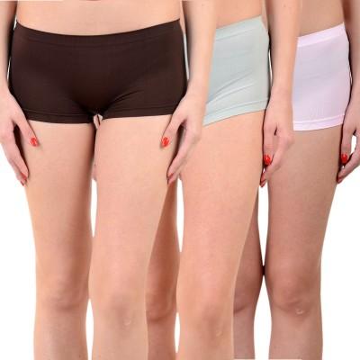 Mynte Solid Women's Black, Blue, Pink Cycling Shorts, Gym Shorts, Swim Shorts