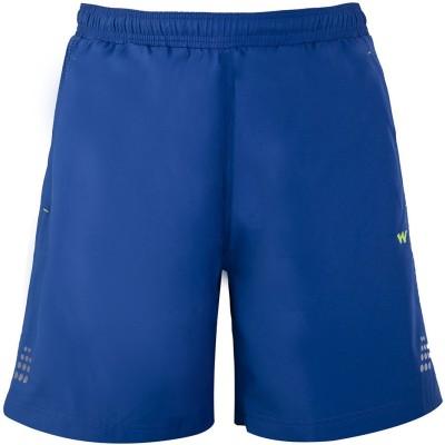 Wildcraft Solid Men's Blue Running Shorts