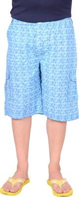 Zrestha Printed Men's Blue Basic Shorts