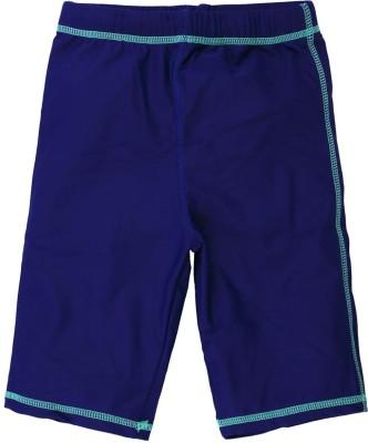 Oye Solid Boy's Blue Basic Shorts