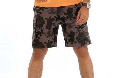 Mountain Colours Solid Men's Reversible Multicolor Basic Shorts