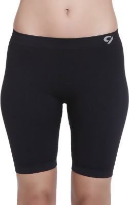 C9 Solid Women's Black Cycling Shorts