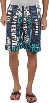 Maks Printed Men's Multicolor Basic Shorts