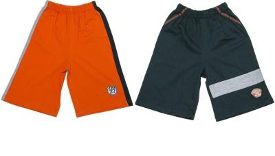 Pepito Solid Boy's Multicolor Bermuda Shorts