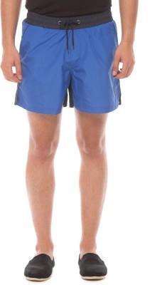 Prym Solid Men's Blue Sports Shorts