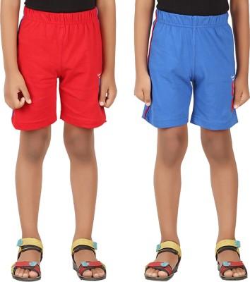 Greenwich Solid Boy,s Multicolor Sports Shorts