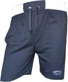 Male Basics Solid Men's Grey Bermuda Sho...