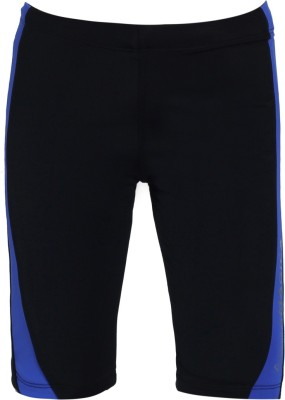 Aquamagica Solid Boy's Black Basic Shorts