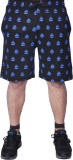 bexter Printed Men's Black Bermuda Short...