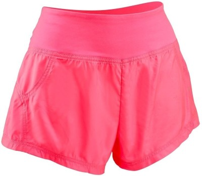 Domyos Solid Women's Pink Sports Shorts