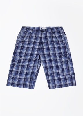 612 League Boy's Blue Basic Shorts