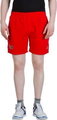 Goodluck Solid Men,s Red, Blue Sports Shorts