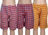 Spictex Short For Boys Cotton (Multicolo...